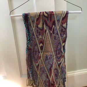EUC Tolani muted color scarf